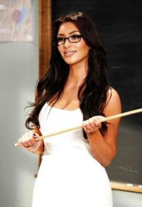 Kim Kardashian Teacher
