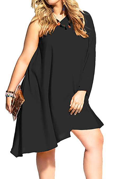 The Perfect Plus Size Little Black Dress