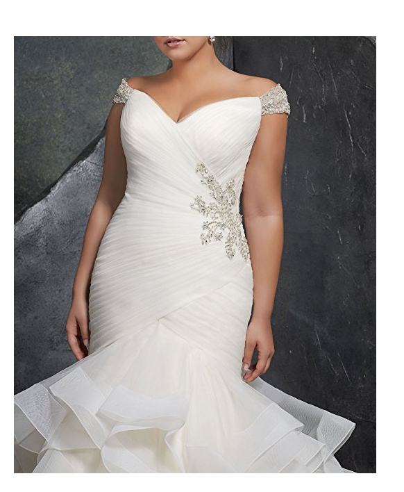 20 Gorgeous and Cheap Plus Size Wedding Dresses Under 200
