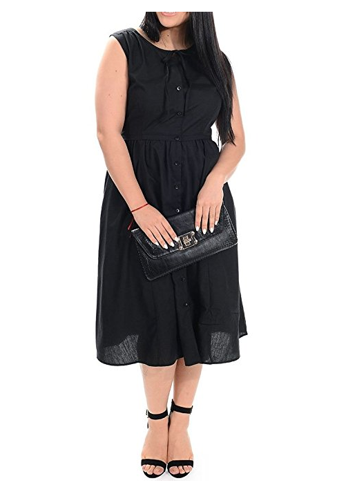 Plus Size Little Black Dress
