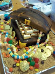 treasure-chest-cake