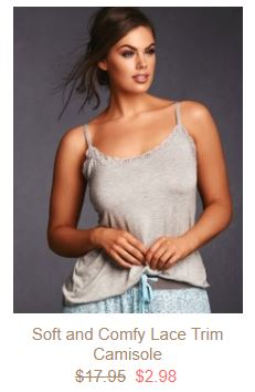 Plus Size Camisole Sale