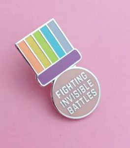 Fighting Invisible Battles Badge