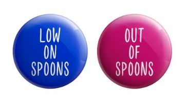 Low on Spoons Button