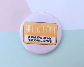 Personal Space Badge