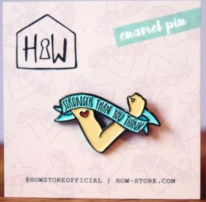 Stronger Than You Think Pin