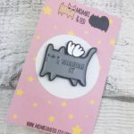 Winging It Cat Pin
