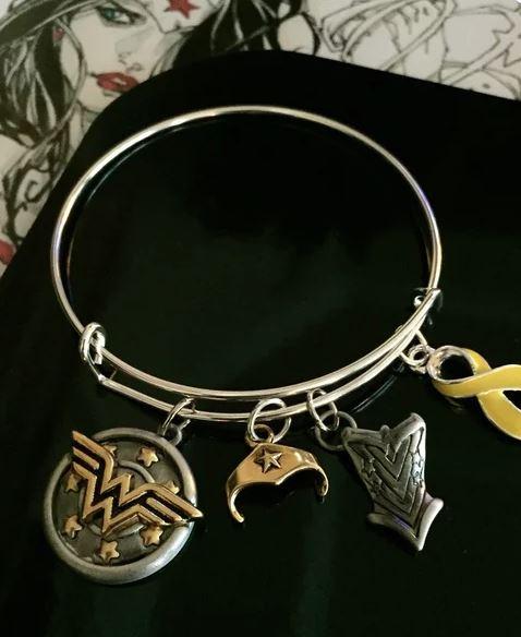 Wonder Woman Spoonie Warrior Bracelet