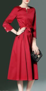 Elegant Red Coverall